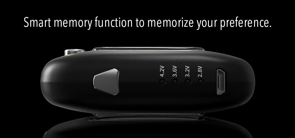 U-key oil vaporizer Smart memory function