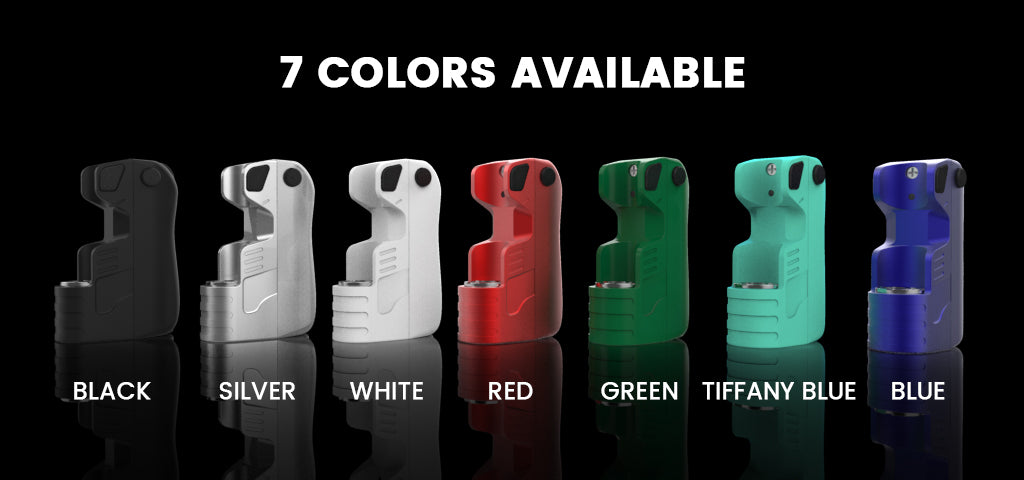 Daze One Battery Oil Vaporizer Colors