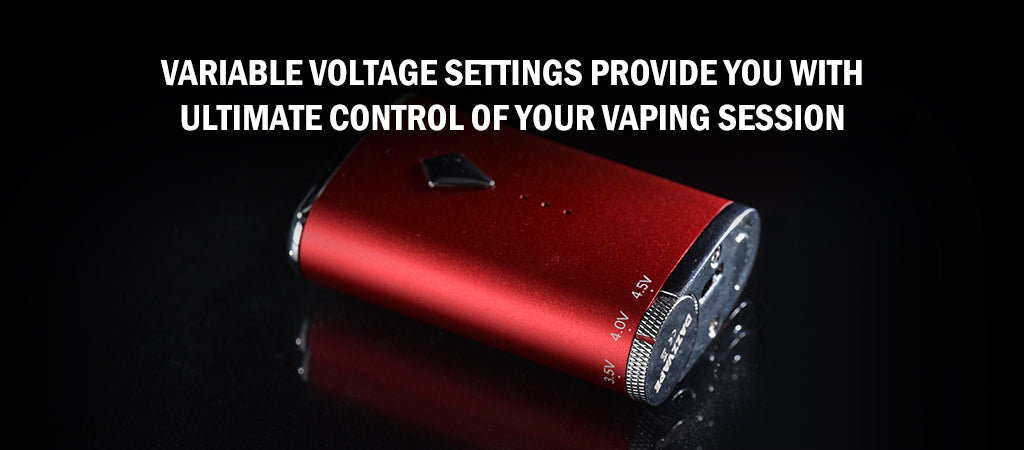 RETRO Battery Vape Mod- Oil Vaporizer voltage settings