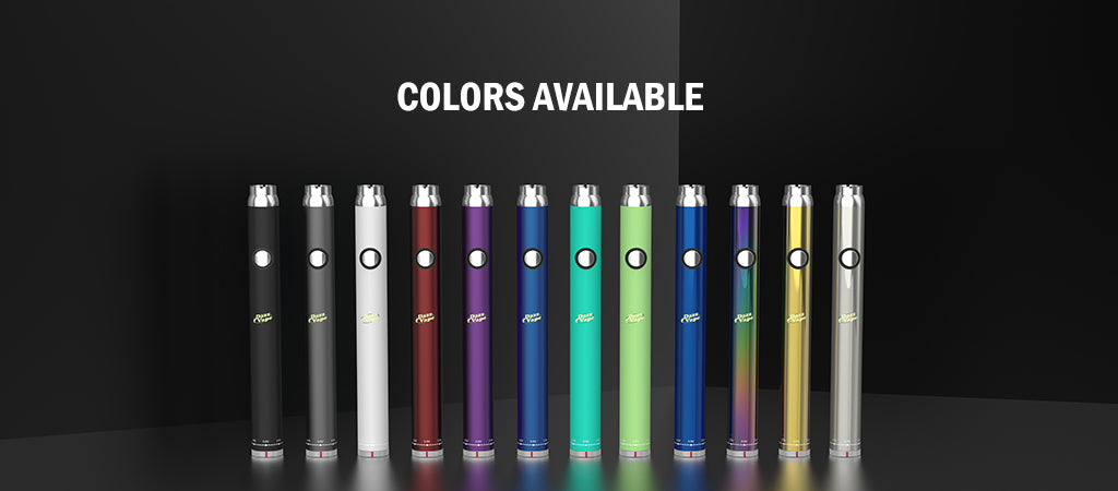 Twist Slim Pen Battery Colors