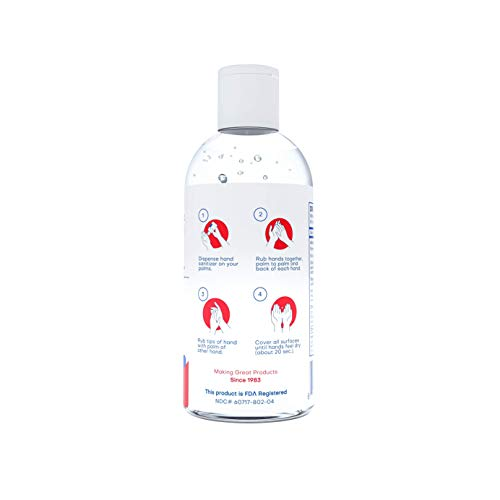 Medex Hand Sanitizer, 70%+ Alcohol, Kills 99.99% of Germs (12 Pack x 4 Oz)