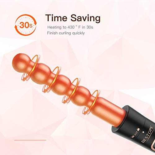 6 in 1 Curling Iron Wand Set