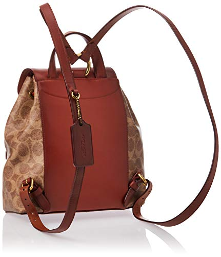 Coach Women Brown Rucksacks