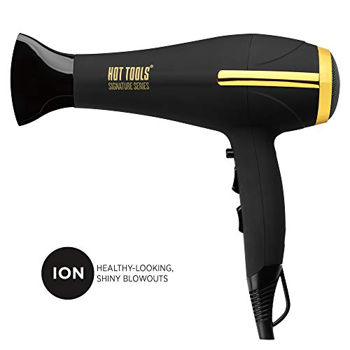 HOT TOOLS Signature Series Ionic 1875W Turbo Ceramic Salon Hair Dryer