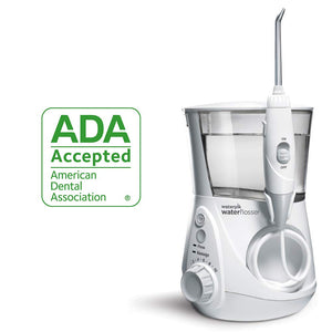 Waterpik Water Flosser Electric Dental Countertop Oral Irrigator For Teeth - Aquarius Professional, WP-660 White