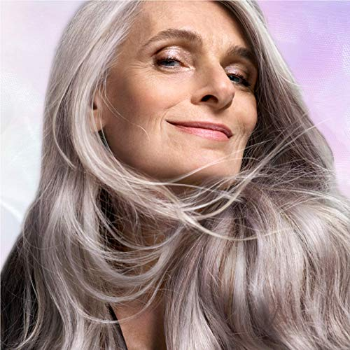 Pantene Silver Expressions Purple Shampoo and Conditoner, with Biotin and Vitamin E, Bundle