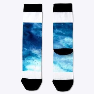 Mars in Blue Socks