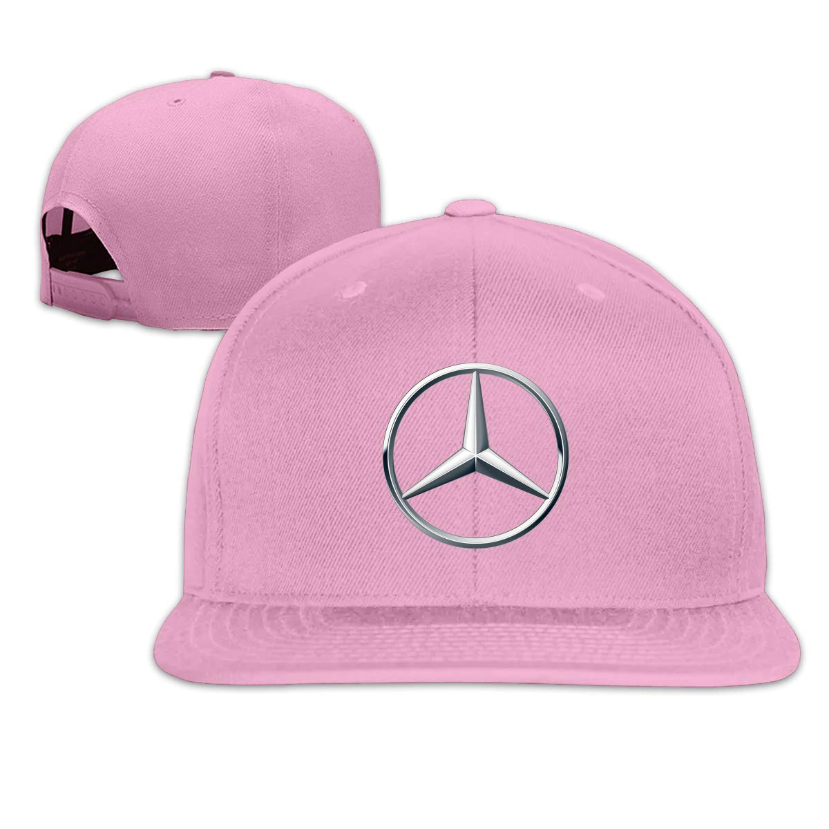 Custom Mercedes Benz Logo Cool Baseball Cap Hat for Men Women's,Pink