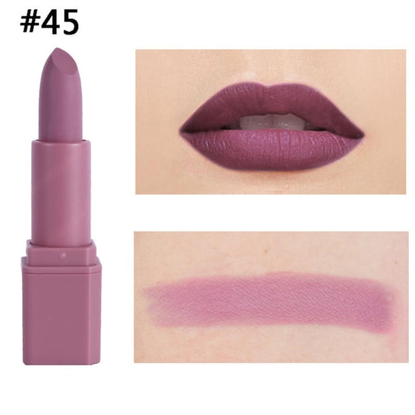 20 Colors Makeup Red Lips Matte Velvet Waterproof Lipstick Pencil Cosmetic Long Lasting Lip Gloss Tint Pigment Lips Make Up