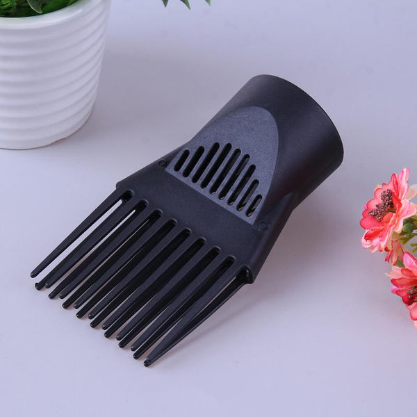 1set  DIY Hair Styling Straighten Tool Diffuser Blower Nozzle Comb Flat Home for Accessory Nozzle Comb Hair Straight Blow Tool