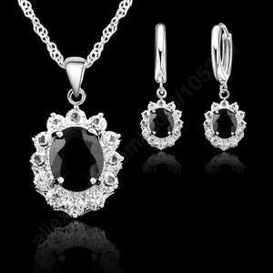Sterling Silver Jewelry Sets For Women