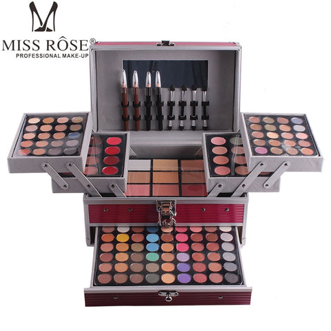Miss Rose 190 Colors professional Makeup Set