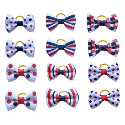 Puppy Yorkshirk Small Dogs Hair Accessories Grooming Bows Rubber Bands Dog Bows Pet Supplies