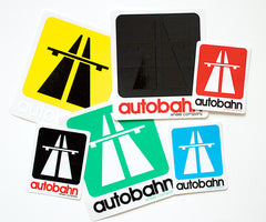 Roadsign decal assorted pack