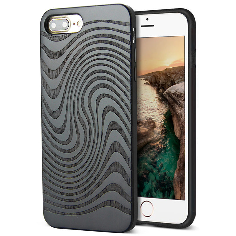 coque protection iphone bois ebene luxe