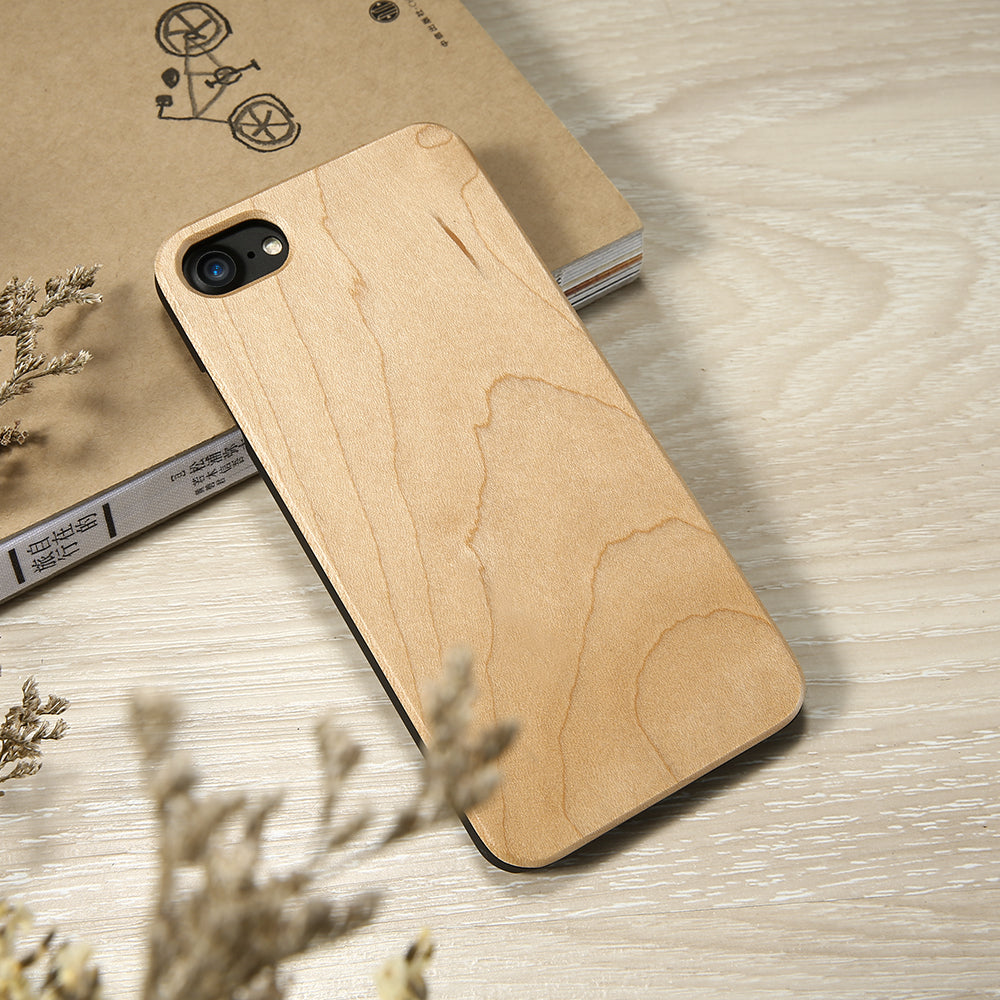 coque protection iphone bois erable