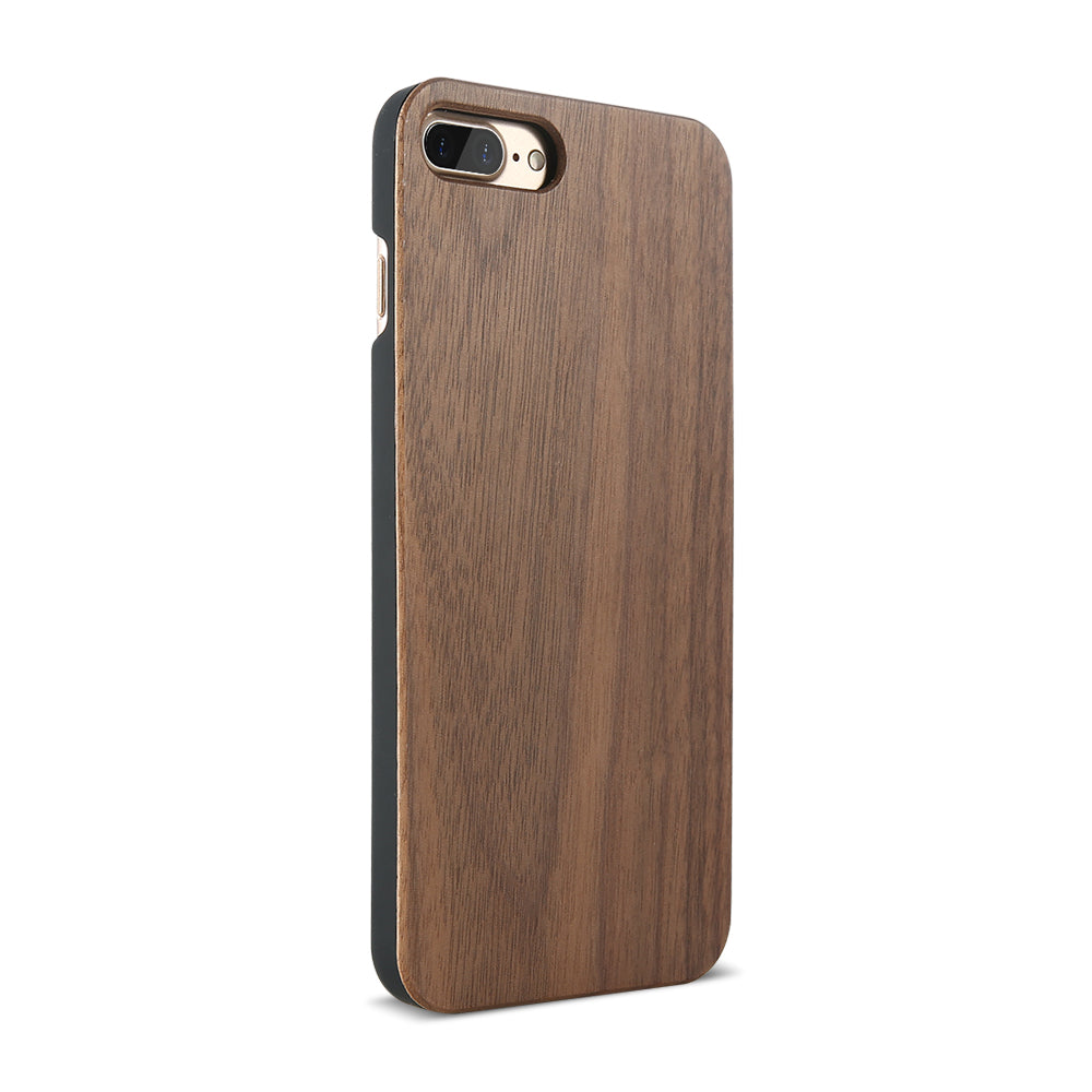 coque protection iphone bois noyer