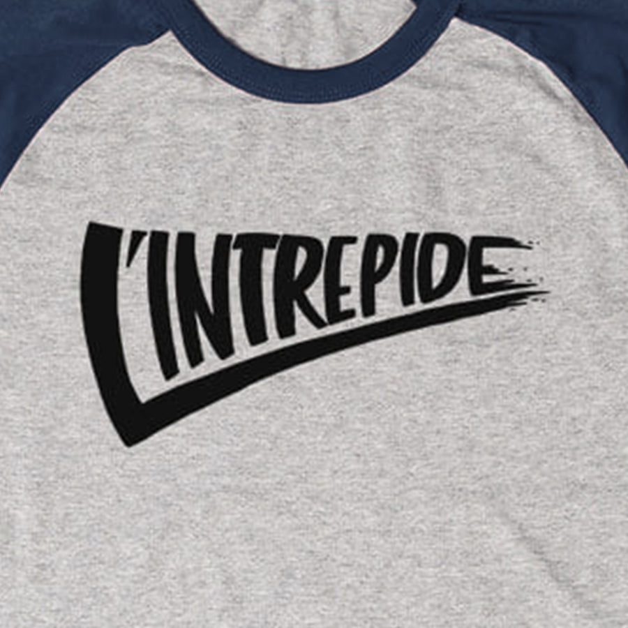 "T-shirt ""L'INTRÉPIDE"" Bleu"