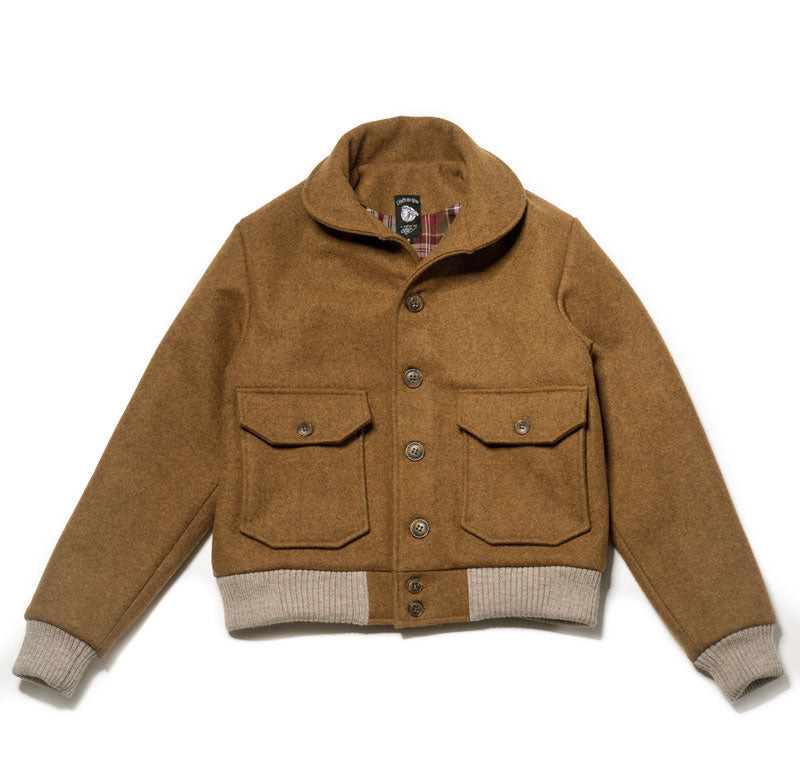 "Sports jacket ""TORPEDO"" Fauve"