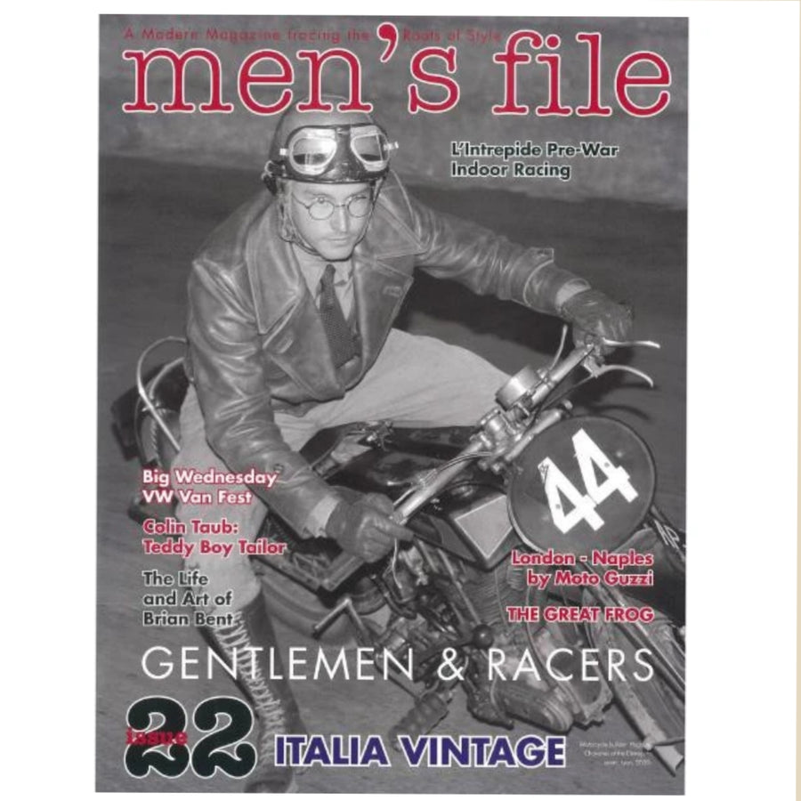 """Men's File"" magazine  N°22"