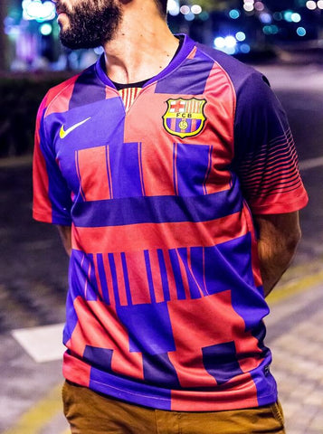 2018 Barcelona 20 Years Mashup Jersey
