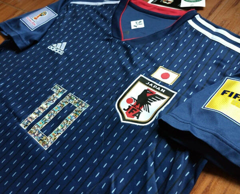 187b0e712 A new shade of blue, combined with red and white embodies the vitality of  Japan's team spirit.