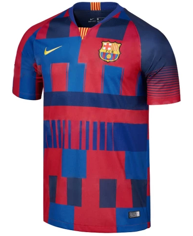 newest 244ca 0d6c9 2018 Barcelona 20 Years Mashup Jersey