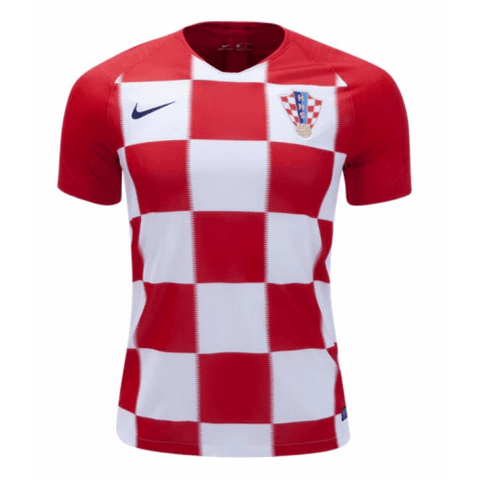 Croatia 2018 World Cup Home Jersey