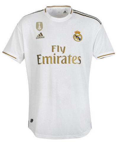 Real Madrid Home Jersey (Season 2019/2020)