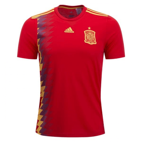Spain 2018 World Cup Home Jersey