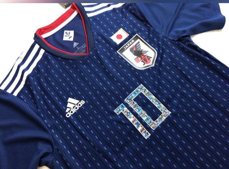 2018 Japan World Cup Home Kit (Captain Tsubasa Special Edition)