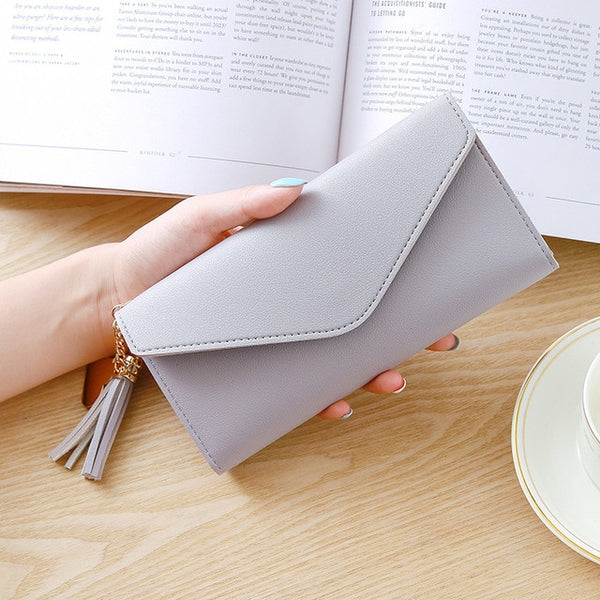 Long Tassel Fashion Wallet