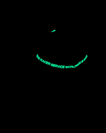 Bad Service x Racer® Glow In The Dark Tech Cap
