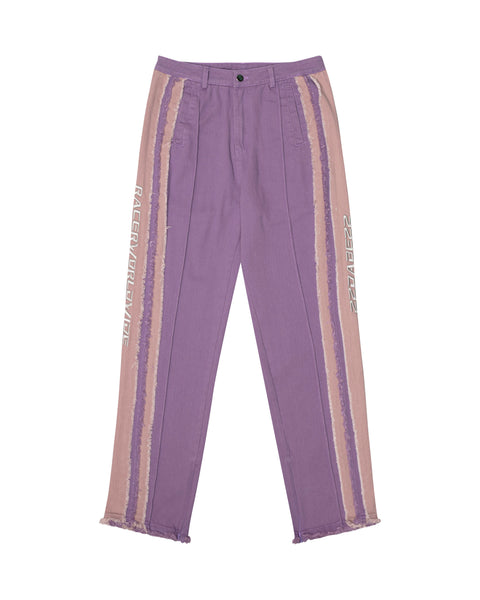 Racer® x Dabe Purple Distressed Pants