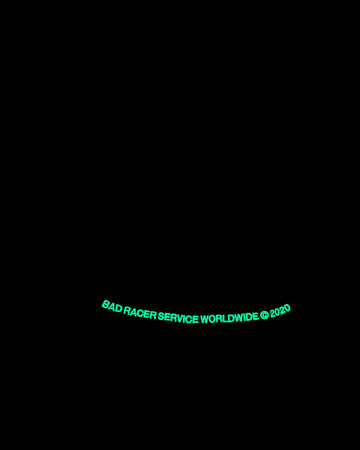 Bad Service x Racer® Glow In The Dark Hood
