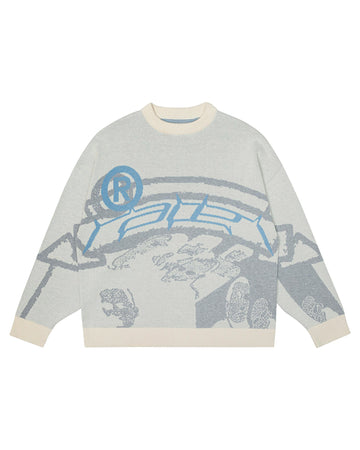 """ICE"" Knit Sweater"