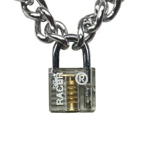 Transparent Padlock Chain