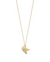 Sweetheart Gold Friendship Necklace