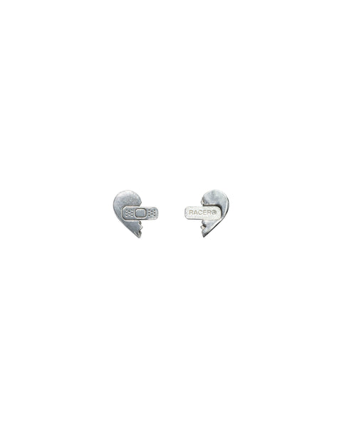 Sweetheart Silver Earrings