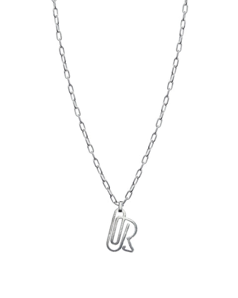 Paperclip Silver Necklace
