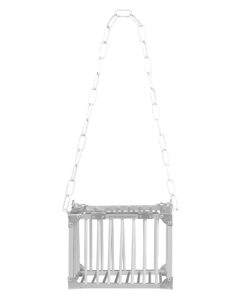 Metallic Cage Bag