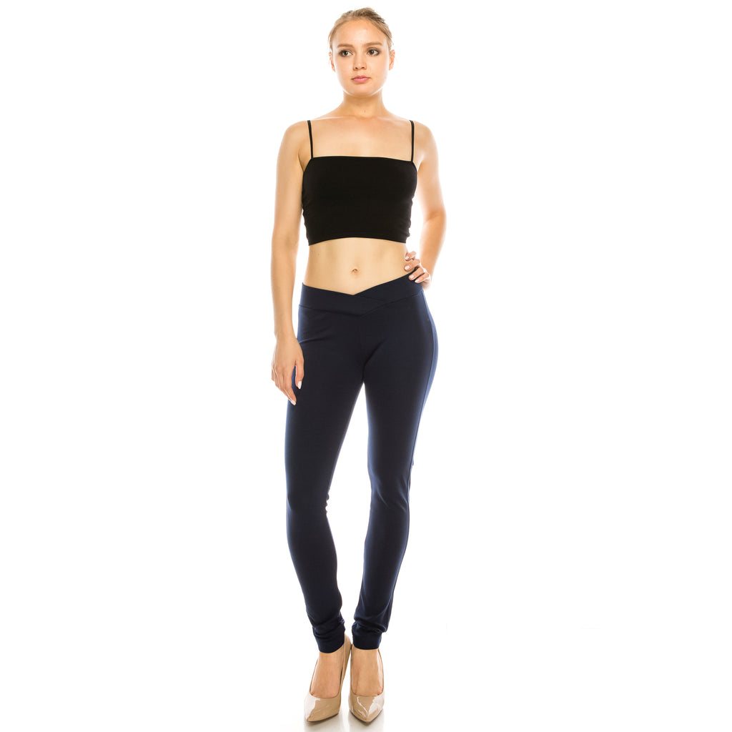 Cross Band Leggings - Aspire Zone