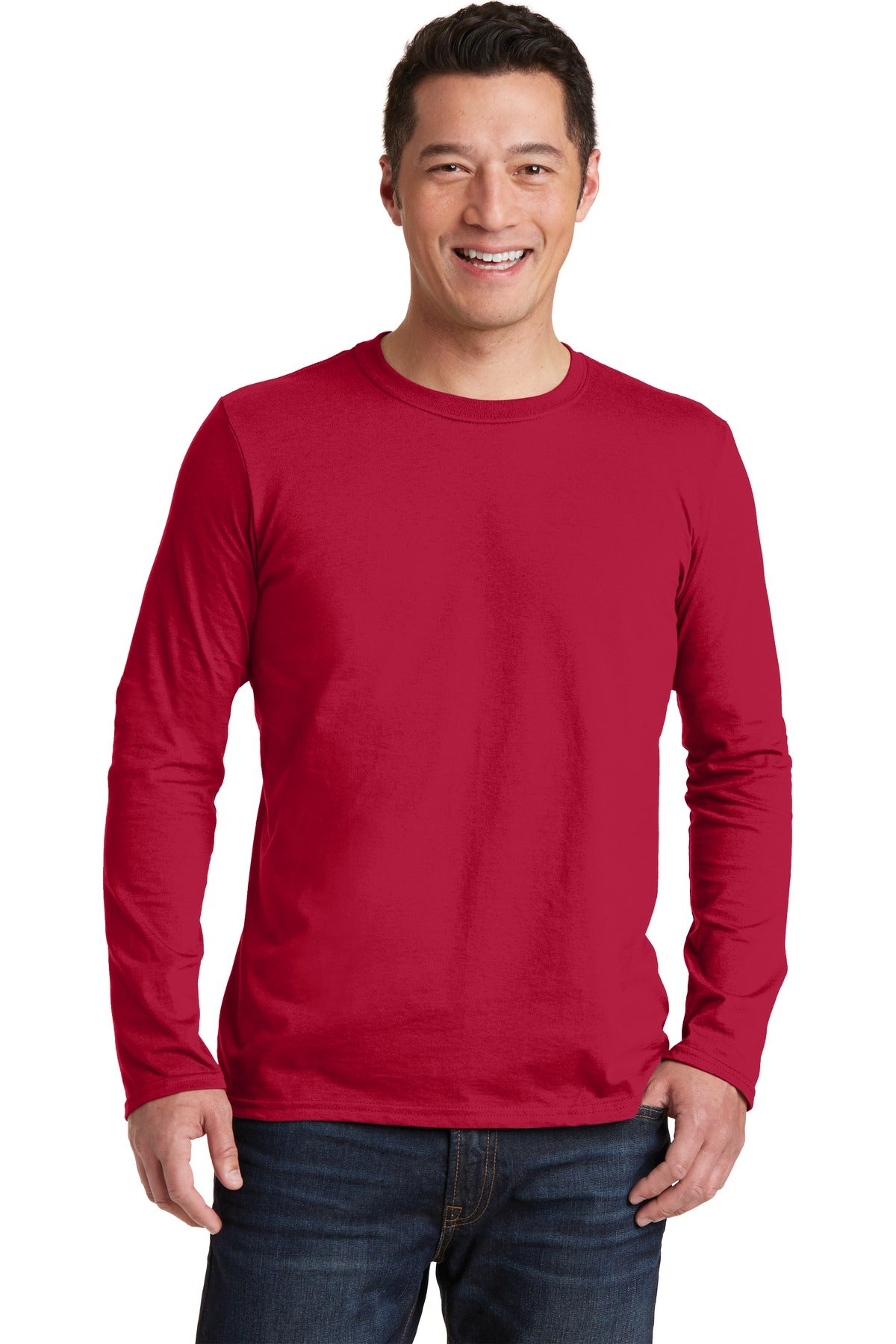 Gildan Softstyle® Long Sleeve T-Shirt. 64400 - Aspire Zone