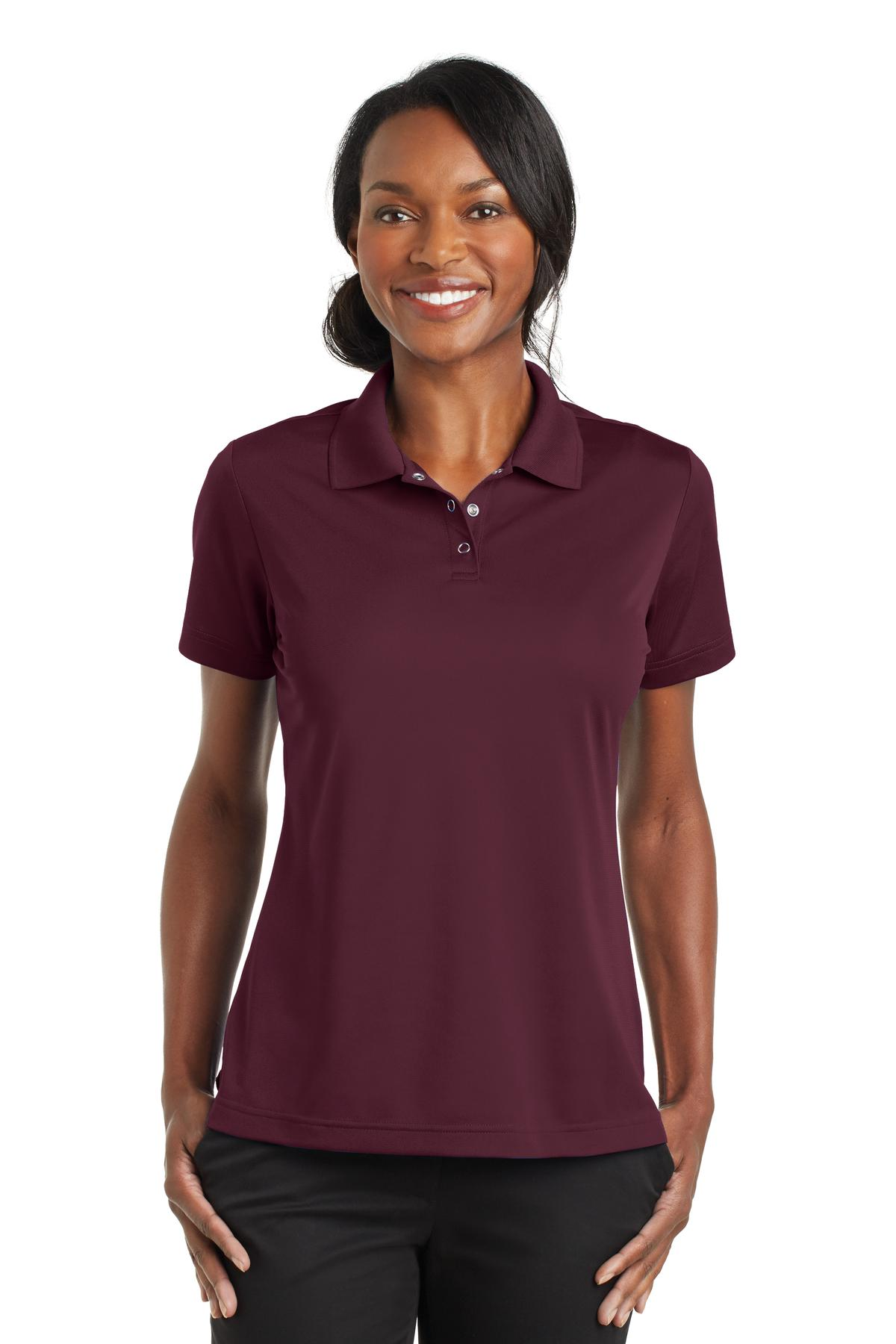 CornerStone® Ladies Micropique Gripper Polo. CS422 - Aspire Zone