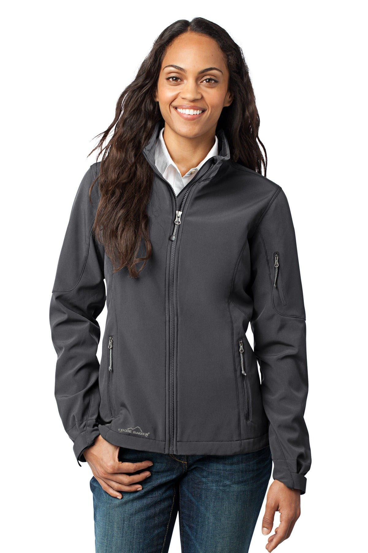 Eddie Bauer® - Ladies Soft Shell Jacket. EB531 - Aspire Zone