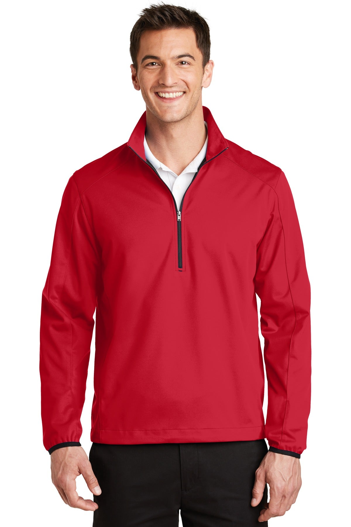 Port Authority® Active 1/2-Zip Soft Shell Jacket. J716