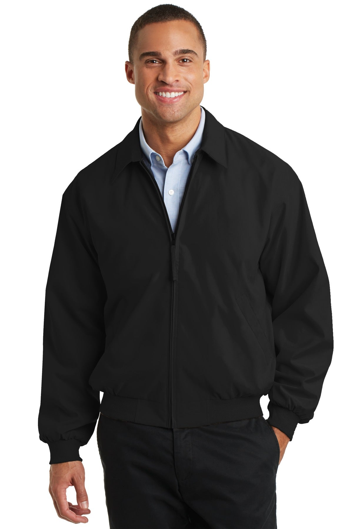 Port Authority® Casual Microfiber Jacket. J730