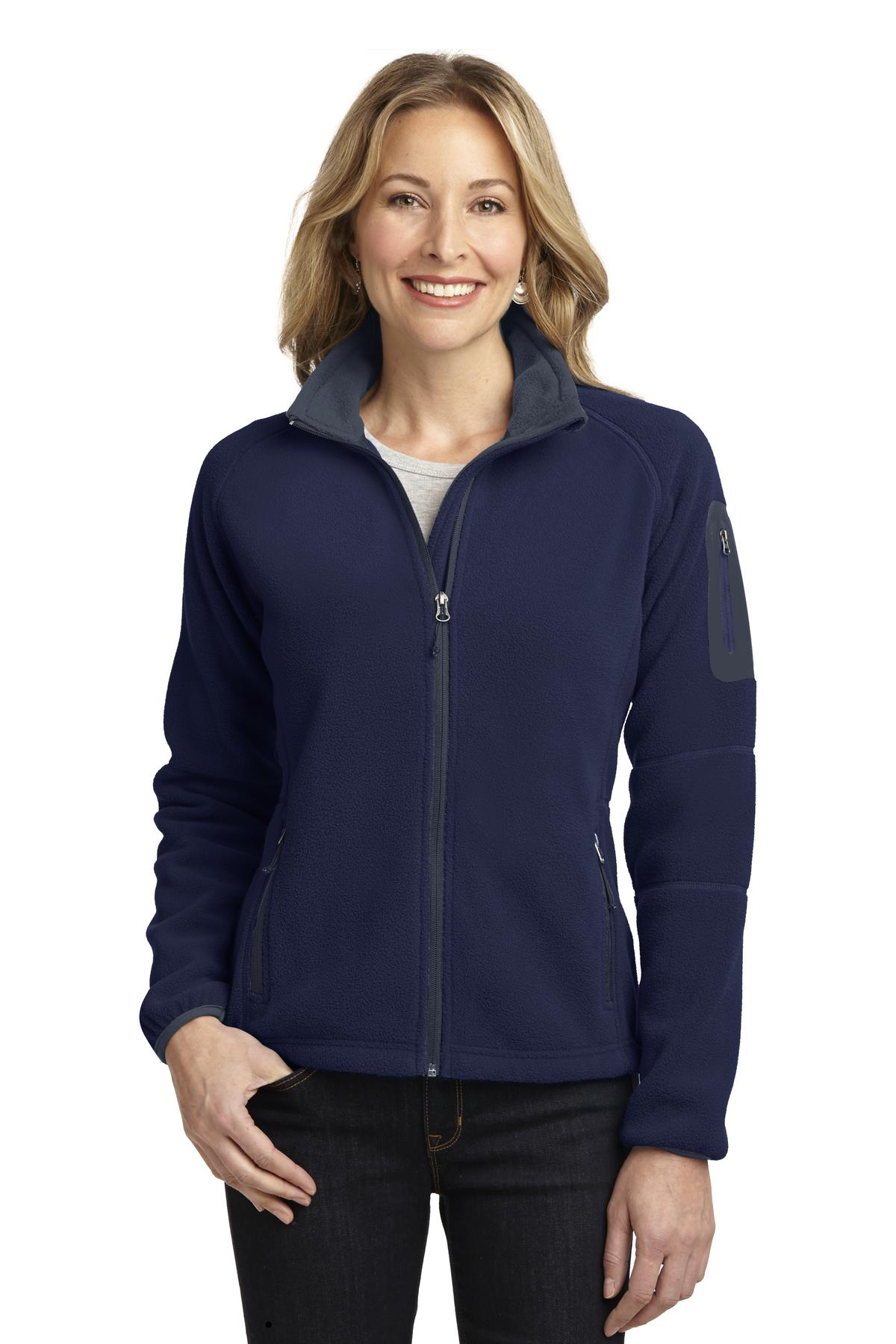 Port Authority® Ladies Enhanced Value Fleece Full-Zip Jacket. L229