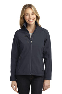 Port Authority® Ladies Welded Soft Shell Jacket. L324