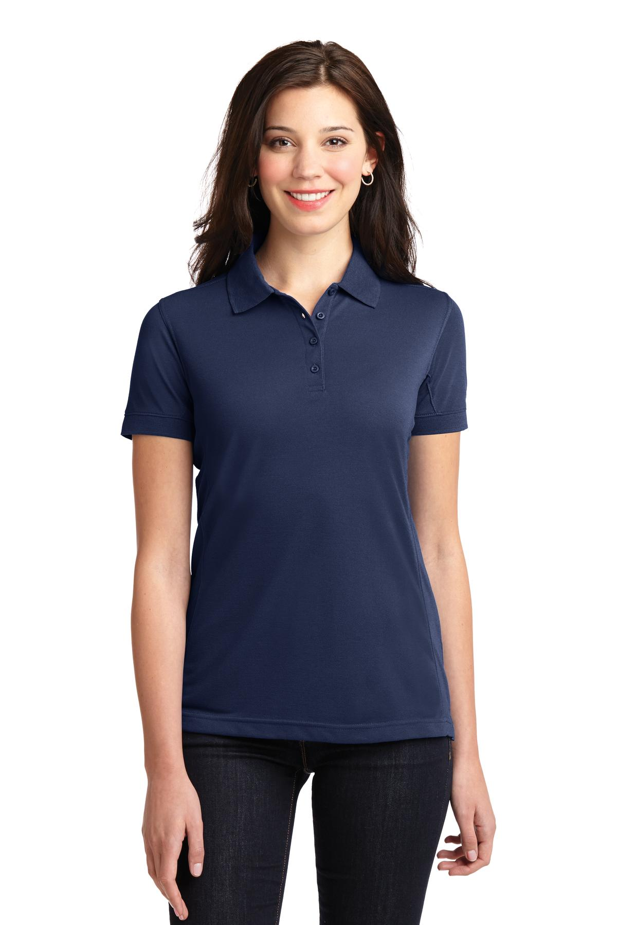 Port Authority® Ladies 5-in-1 Performance Pique Polo. L567
